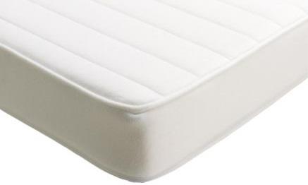 IKEA, VYSSA SKÖNT,Materac do łóżka dla dziecka, biały,129 zł