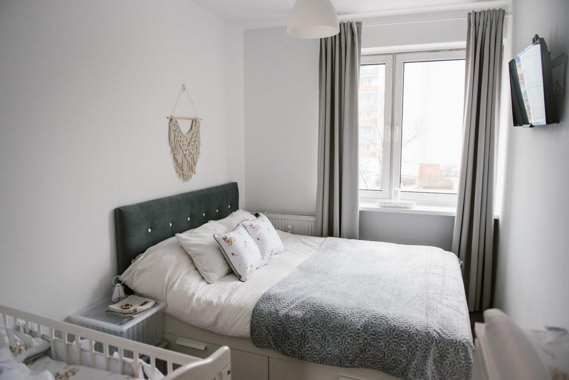 Wspaniały Metamorfoza naszej sypialni i kącik dla niemowlaka - Blog FE09