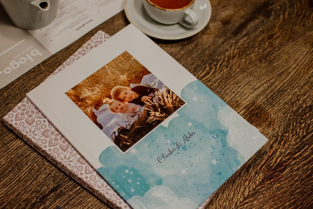 fotoksiążka Oliwka i Aleks