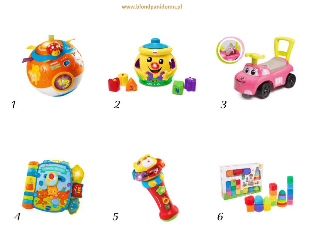 interaktywne zabawki dla niemowląt