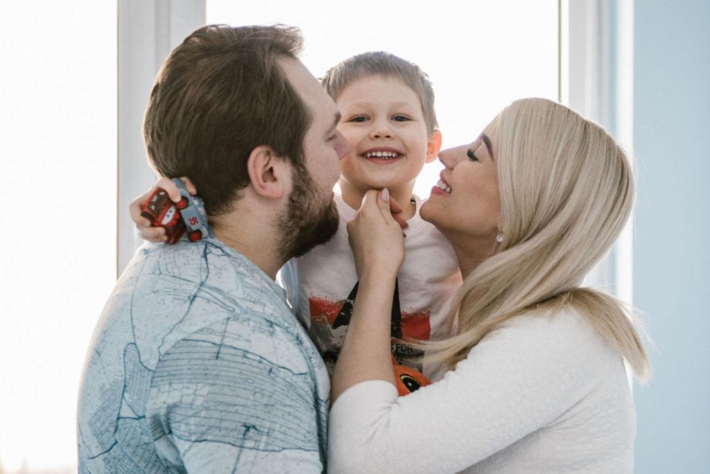 sesja rodzinna domowa