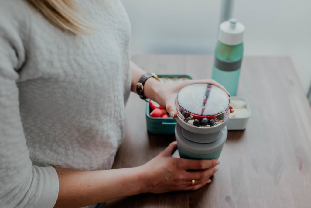 mepal lunchpot na jogurt