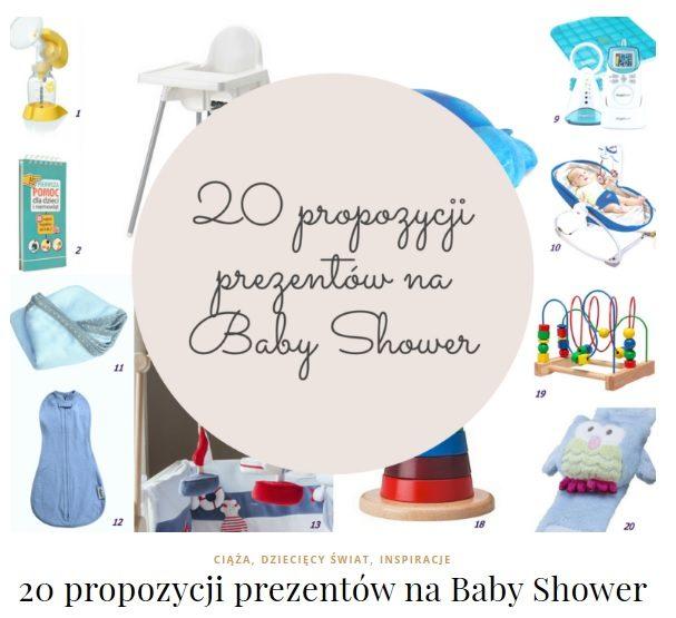 baby shower prezenty